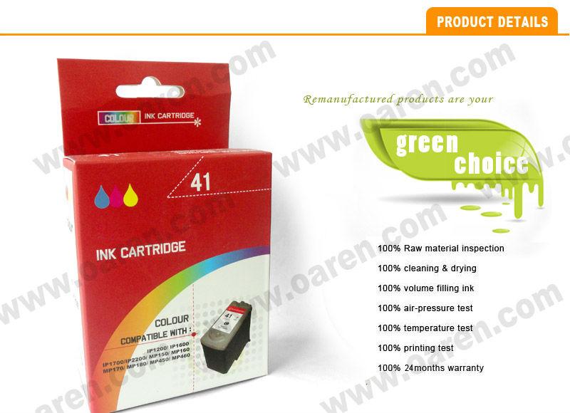 Картридж Canon CL-41 Color для MP450/MP150/MP170/iP1600/iP2200/iP6210D 0617B025