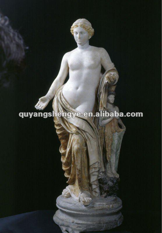 Famous greek sculptures women
