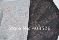 Women's Loose Batwing Long T-Shirt Tops Ladies Casual Hip-length Blouse Black + Gray free shipping 5724