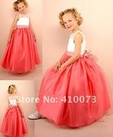 Детское платье hot sale little queen flower girl dress