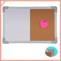 Доска для объявлений whiteboard and cork board combo board