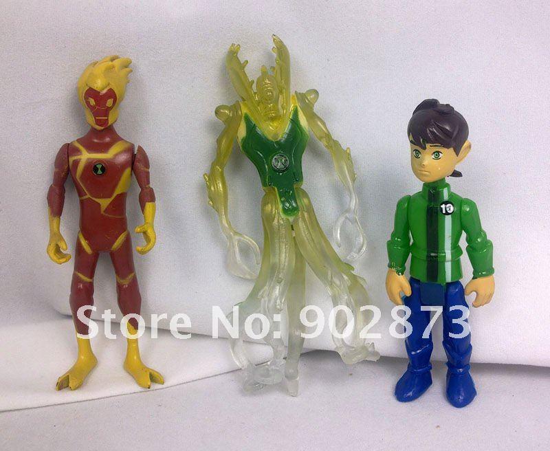 Wholesale BEN 10 Alien force 9pcs New Action Figures set ...