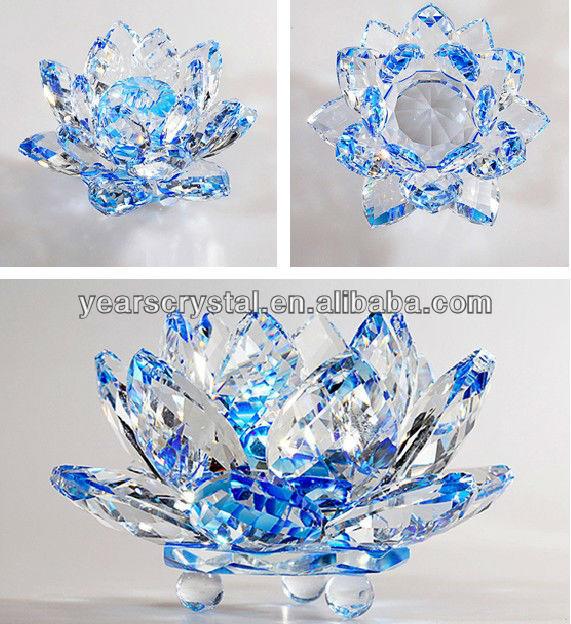 Alibaba expreso años de loto cristal de cristal flowes para ...