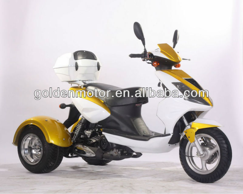 HDT-50S 50cc EPA 3 wheel handicapped tricycle motorcycle tricycle three wheel motorcycle rickshaw tricycle