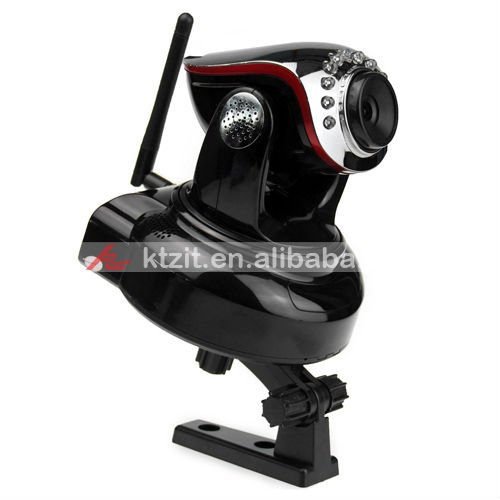 H.264 Security 1MP CMOS HD 720P Wireless IR-CUT IP Pan/tilt Video Camera With Max 32GB ,Free Shipping