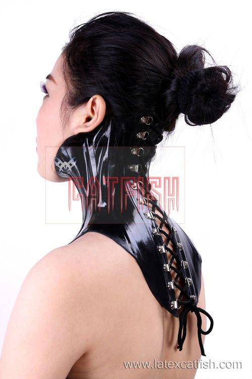 rubber neck corset