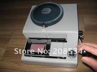 по dhl/fedex! 70 писем вручную пластик/ПВХ карты тиснитель 70c, ПВХ кредитных карт, выбивая машина