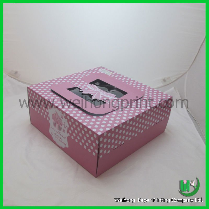 colorful wedding cake boxes with handle