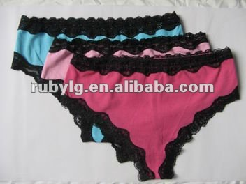 Woman sexy tiny panties