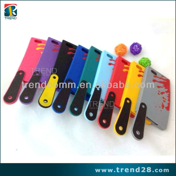 new 2014 home product kitchen knife silicon cover for iphone 5 5s
