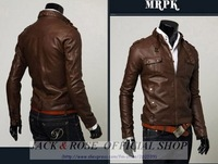 Мужские изделия из кожи и замши Men's jacket suppliers Men's Stunning Casual Rider leather jacket skinny PU leather jacket