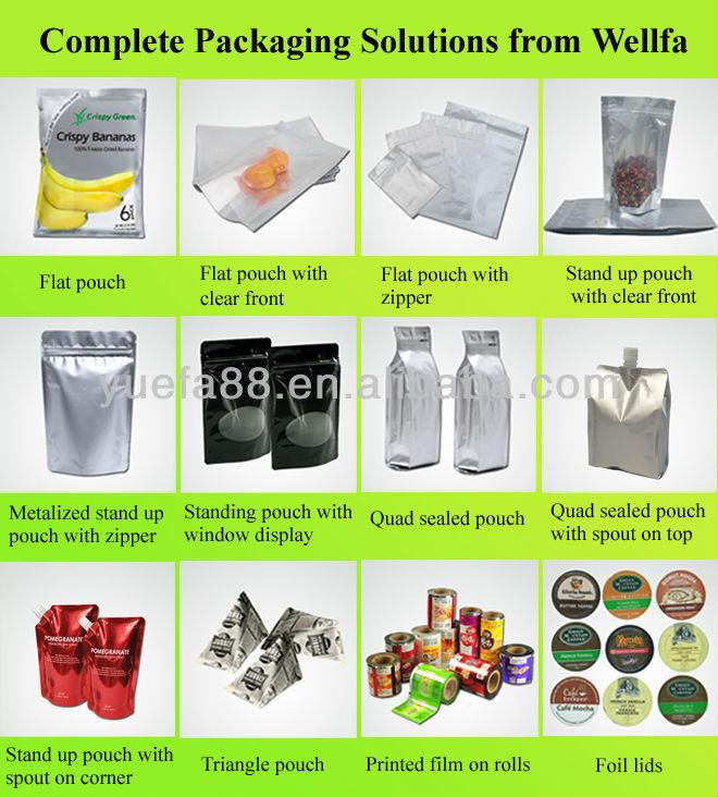 Уникальные Продукты! Пластиковые Рулонная Пленка для Закуски Упаковка Треугольник Сумка