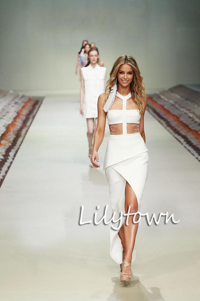 Fashion Show Dress Drop Hot For Custom Made Dress