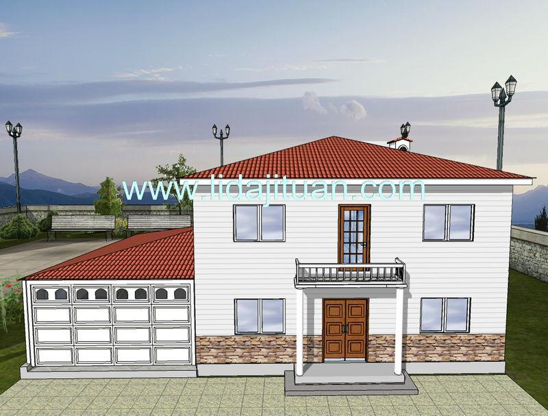 2013 Europe style CE&ISO steel villa