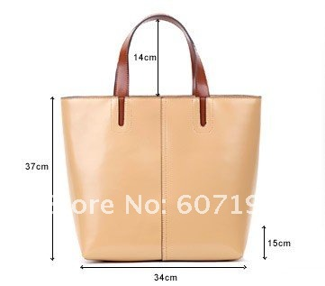 2012 New arrival High quality 100% genuine  leather designer inspired handbags,hotsale tote ladies bags,2118-2,free shipping