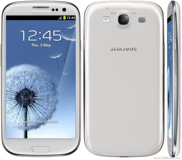 biały SAMSUNG GALAXY S3