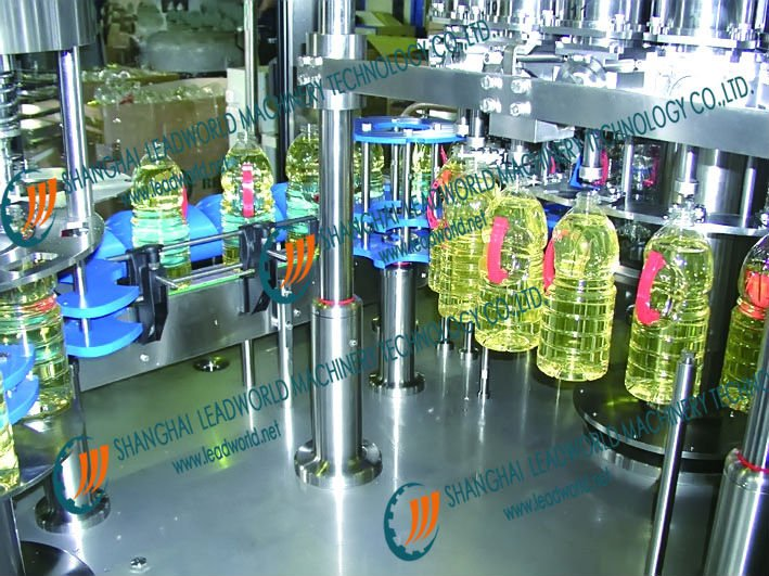 lube oil weight (barrel) filling machine