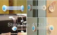 Мебельный замок от детей 10 pcs / lot Baby Care Products Plastic Bendy Door Drawer Fridge Cabinet Safety Locks Straps For Child And Baby