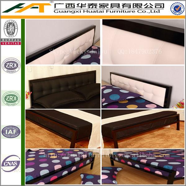 slaapkamer meubels van dubbele bedden ontwerpen met ijzeren bed