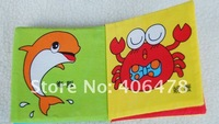 HOT SELL 24pcs lot Baby Cloth Books,Children Hand Books,Baby Toys