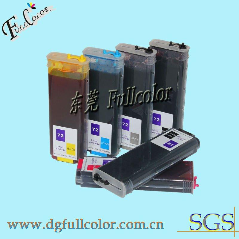 Refillable ink Cartridge for HP Designjet T1100 plotter printer