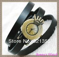 Наручные часы bangle watches Genuine Cow leather bracelet bronze watch women ladies quartz watch vintage dress wristwatch