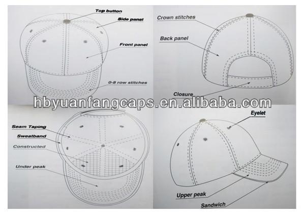 custom oem 3d embroidery snapback hat