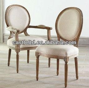 빈티지 프랑스어 원형 살이 포동 포동하게 찐 사이드 의자 ...