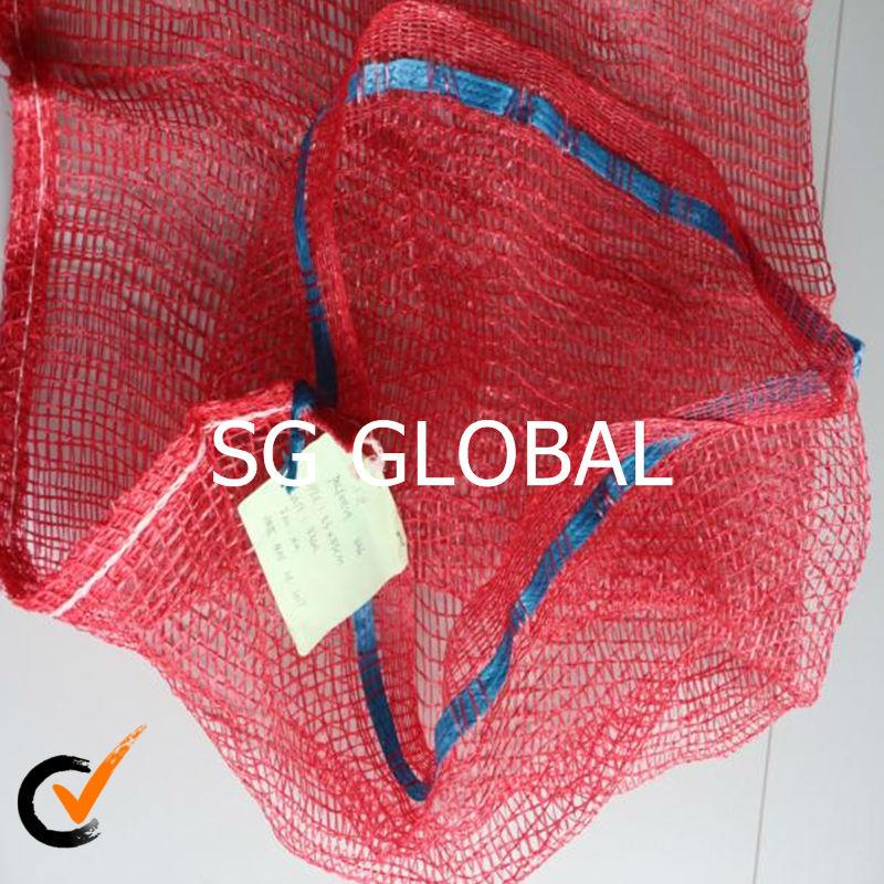 Alibaba China mesh bags drawstring