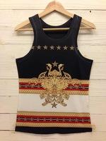 Мужская футболка 50pcs 3D men animal camouflage vest tank top summer Fashion Vest Cotton T shirt UPS/Fedex
