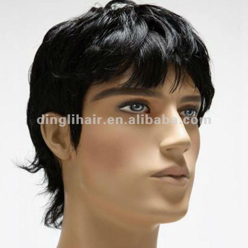 Pelo facial de hombre negro