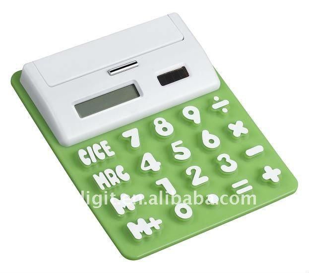 Calculator with USB HUBS