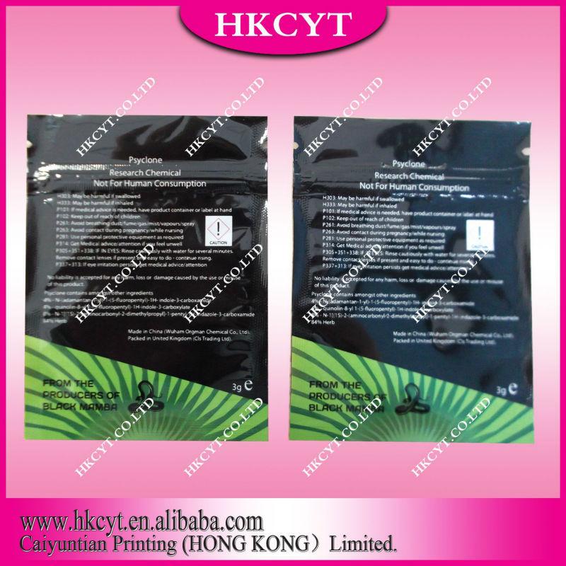 Spice potpourri ziplock bags