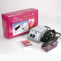 Сушилка для ногтей Glazing Electric Nail Art Drill Manicure Machine Kit + 6 Bits+ Foot Pedal Low Noise, Low Vibration
