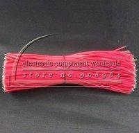 Электропровод 200pcs 26AWG 1007 black Breadboard Jumper Cable Wires Tinned length=25cm