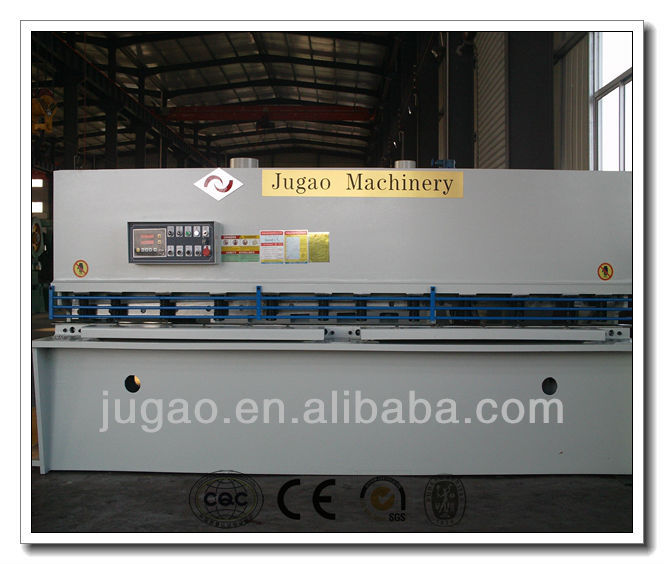 JUGAO Metal sheet QC12Y-60X8000 hydraulic shearing guillotine shear