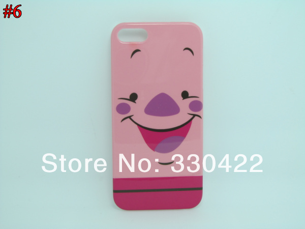 Lovely Cute Cartoon Cat  Winnie Design Plastic Hard Case for Iphone 5G (6).jpg