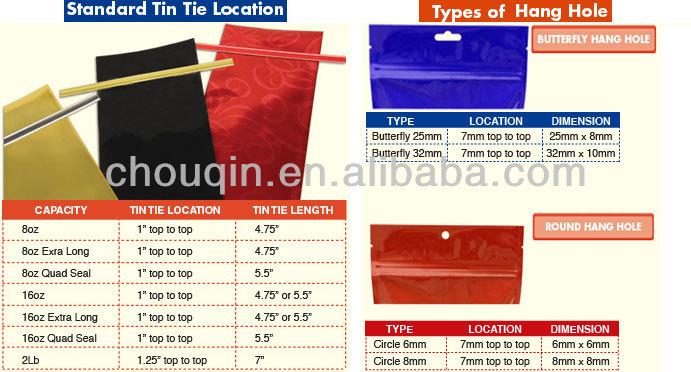Sales a5 zip lock bag for beef