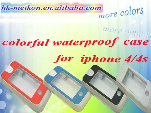 hard waterproof bags for iphone 4/4s