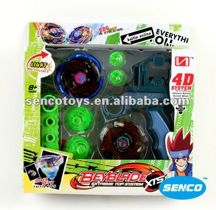 4D 4 Mixed New Spin Top With Light Big Beyblade