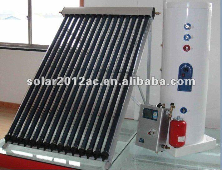 pressured copper coil solar pool collector