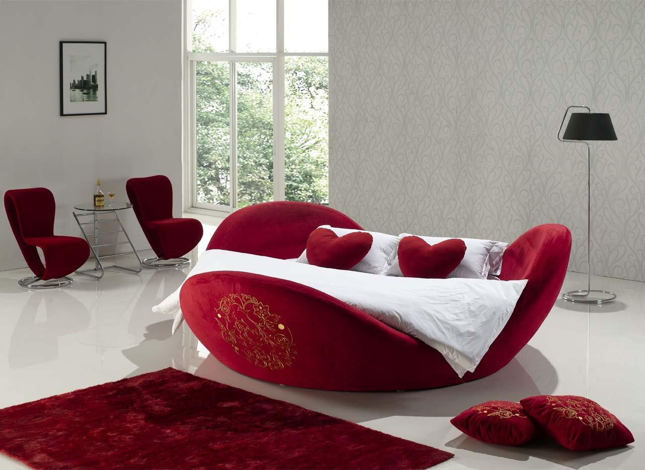 Modele De Lit En Bois Rond : Round Bed