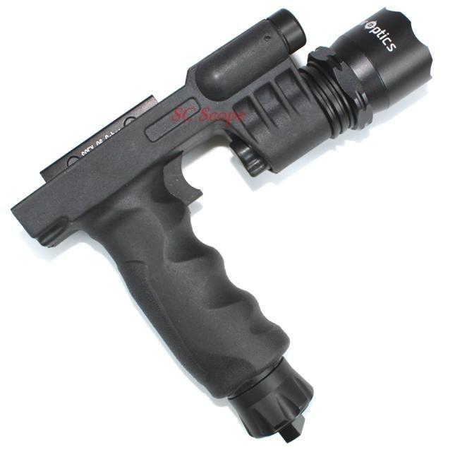 Laser Flashlight Combo For ar 15 Flashlight Laser Combo