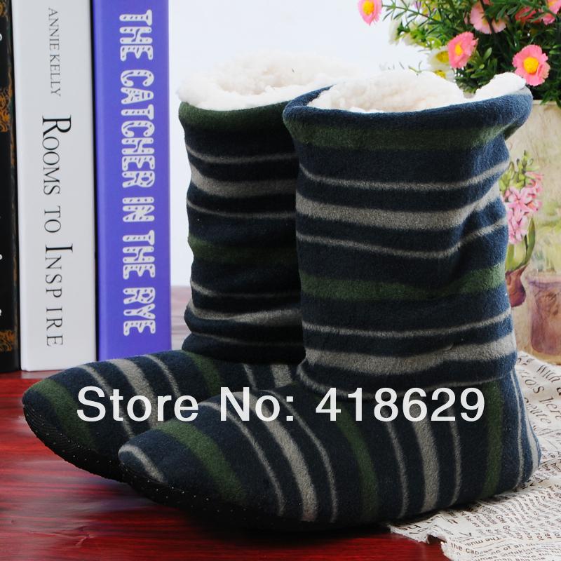 חדש 2013 חורף חם מקורה מגפי נשים בבית נעלי חג המולד צבי מגפי נשים, נעלי בית כותנה מגפי שלג רך
