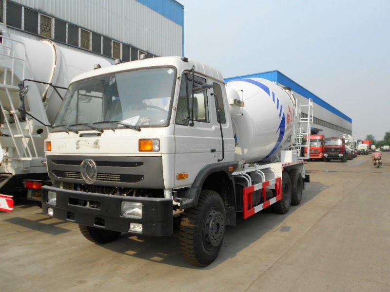 Carros del concreto preparado del árbol en tándem de Dongfeng ...