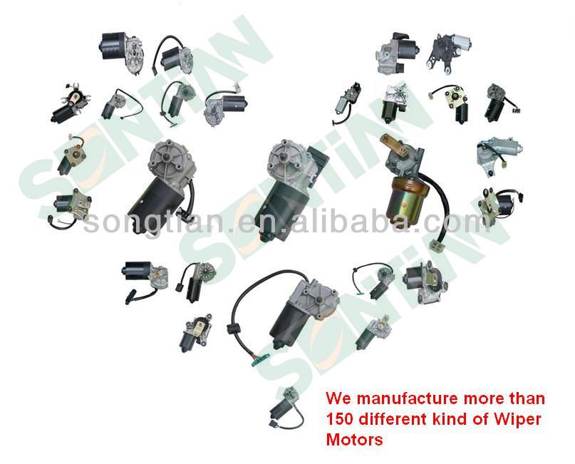 Auto DC Wiper Motor Manufacturer Electric Wiper Motor 12V