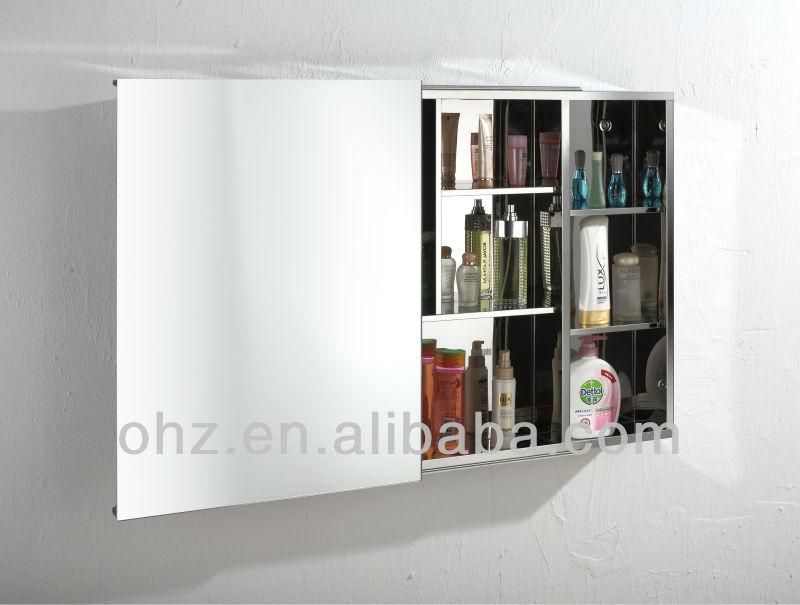 spiegelschrank edelstahl grundtal spiegelschrank 90103715 bewertungen preisvergleiche. Black Bedroom Furniture Sets. Home Design Ideas