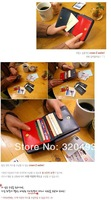 Free shipping women's PU long leather wallet Ladies designer Purse Handbags Coin Card Organizer Gift  wholesale and retail