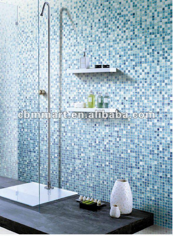 piastrelle bagno mosaico di vetro