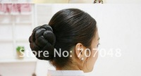 Шиньон high quality beauty synthetic hair buns/great style